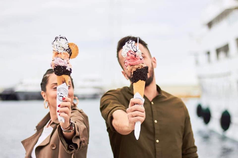Rocambolesco Φρέσκο Χειροποιήτο Παγωτό